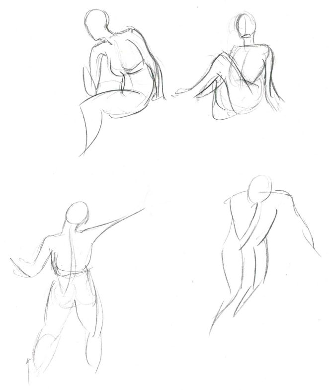 Gesture Drawings, 3.31.15