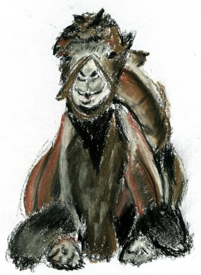 Camel Nupastel (WIP), 1.10.16